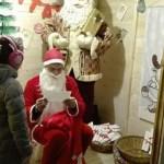 Un Babbo Natale speciale (Massimo Seri) per i sogni futuristi dei bambini di Fano
