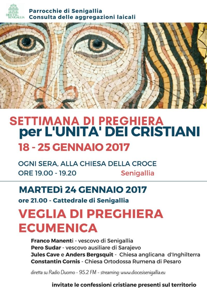 SENIGALLIA / Martedì sera veglia ecumenica in Cattedrale