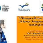 SENIGALLIA / L'Europa a 60 anni dai Trattati di Roma, incontri al Medi e al Corinaldesi