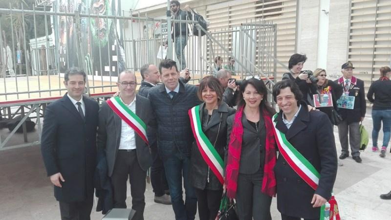 Anche Senigallia presente a Grottammare alla Giornata della Memoria e dell'Impegno promossa da Libera