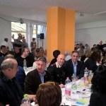 TRECASTELLI / Quasi 500 persone hanno preso parte al pranzo di solidarietà per la popolazione di Montefortino