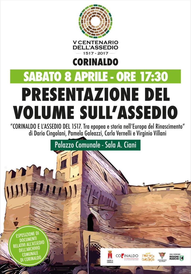 Corinaldo e l'assedio del 1517: sabato la presentazione di un libro realizzato per il V Centenario