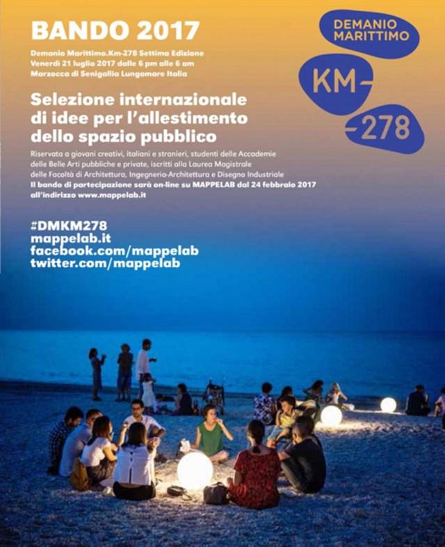 Il 21 luglio a Marzocca la settima edizione di Demanio Marittimo Km-278