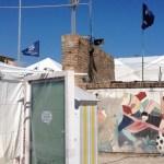 SENIGALLIA / Creatività e senso civico degli studenti per recuperare le mura dello stadio Bianchelli