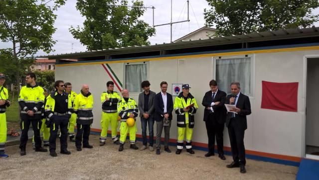 Inaugurata a Trecastelli la nuova sede operativa del Gruppo comunale dei volontari di Protezione civile