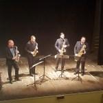 """OSTRA / Teatro gremito per il concerto del """"Federico Mondelci i Sax Quartet"""""""