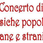 SENIGALLIA / Domenica sera alla Gabriella un concerto di musiche popolari italiane e straniere