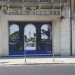 FALCONARA / Con una gigantografia al Caffè Bedetti si apre il percorsodi restyling e innalzamento del decoro in città