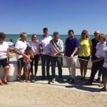 FANO / Realizzati 100 metri di muretto per la passeggiata nella zona balneare di Ponte Sasso