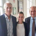 Jesi città di campionesse e campioni, il sindaco Bacci ricevuto dal presidente del Coni Malagò