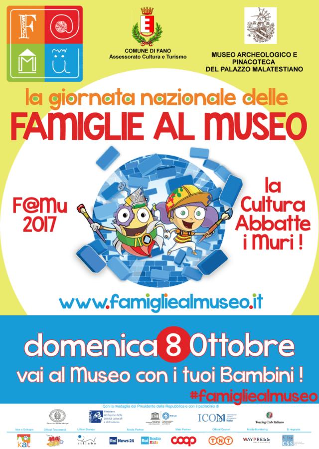 Anche la Pinacoteca del Palazzo Malatestiano di Fano partecipa all'iniziativa Famiglie al museo