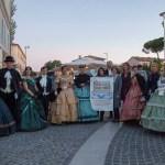 Le vie del centro di Senigallia movimentate dalla manifestazione promossa dall'Associazione Asteres
