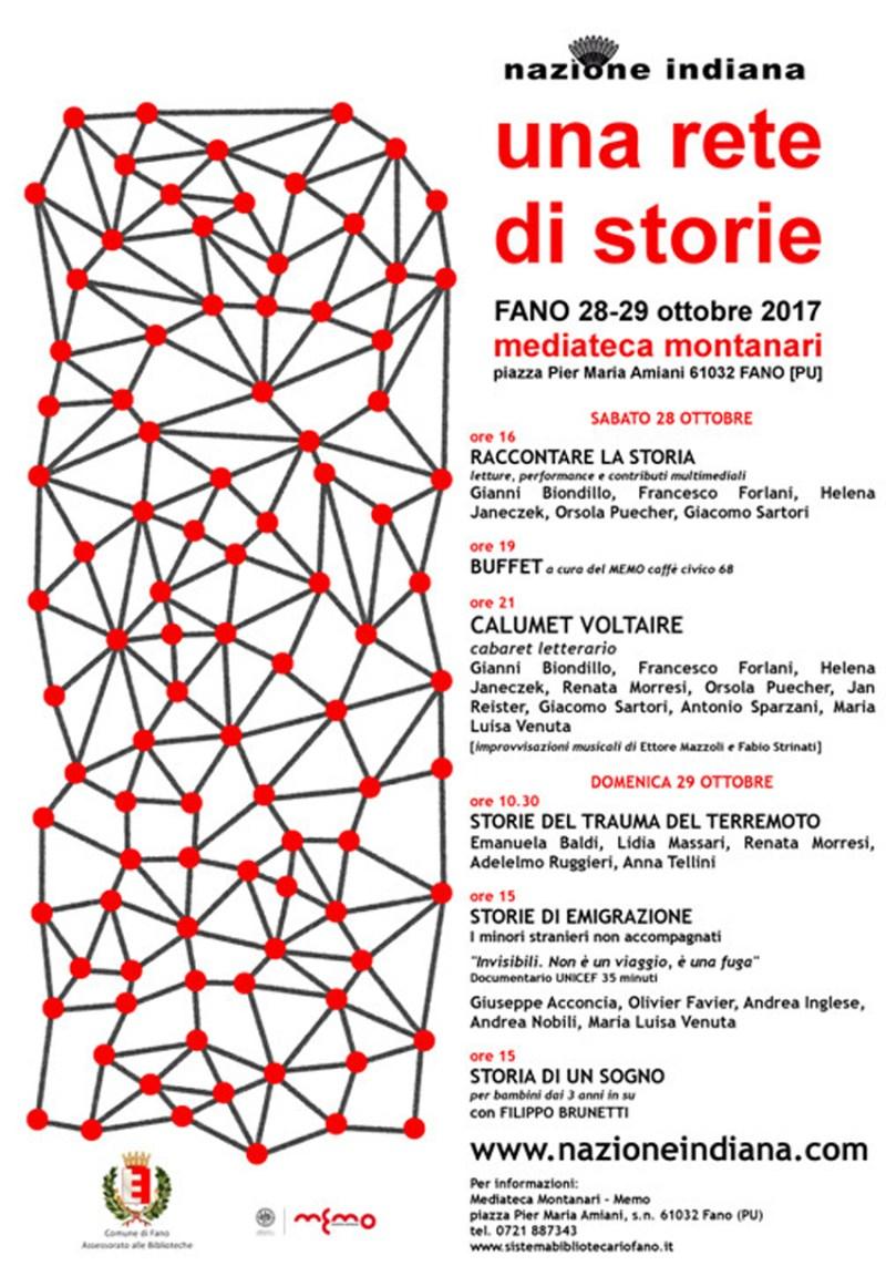 Una rete di storie, sabato e domenica letteratura e attualità alla Mediateca Montanari di Fano