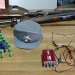 Un cacciatore sorpreso a Corinaldo mentre utilizzava un richiamo elettromagnetico vietato