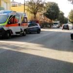 Carabinieri e agenti di polizia alla Cesanella per sedare una lite tra fratelli
