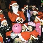 Senigallia, sabato al Foro Annonario Babbo Natale arriva sui pattini