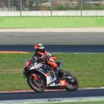 Il pilota senigalliese Simone Saltarelli anche quest'anno sarà protagonista nel campionato italiano superbike