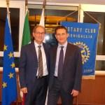 Il rapporto tra banca e territorio al centro di un incontro al Rotary Club Senigallia con il dottor Nunzio Tartaglia