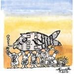 Nelle mense scolastiche del Comune di Fano il pesce fresco dell'Adriatico