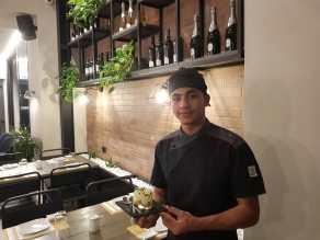 Rachid Er Rafini - Un giovane e promettente Chef Egiziano al Ristorante Sushiya di Fano