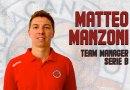 Matteo Manzoni è il nuovo Team manager della Pallacanestro Senigallia