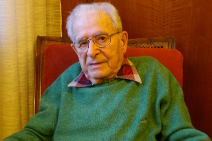 Il fotografo Ferruccio Ferroni nel 2007