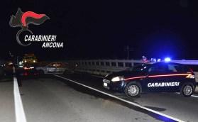 SENIGALLIA auto incendiata ponte cesano carabinieri notte2019-09-13-x0 (1)