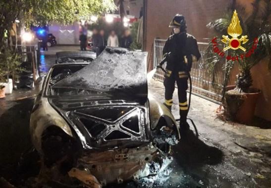MAIOLATI SPONTINI incendio auto vdf2019-11-06 (1)