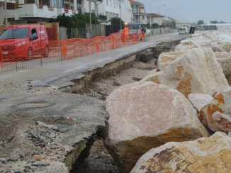 MARINA MONTEMARCIANO danni mareggiate lungomare spiaggia AgM2019-11-19 (5)