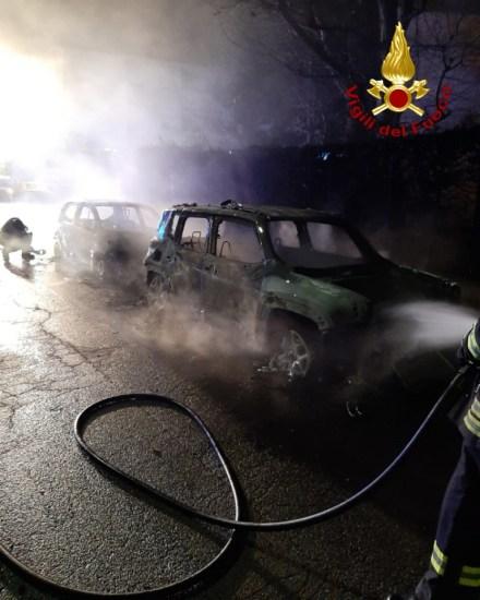 PIANELLO VALLESINA auto fiamme vdf2019-12-21 (1)