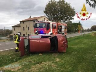 SENIGALLIA incidente donna auto vdf2019-12-02 (1)