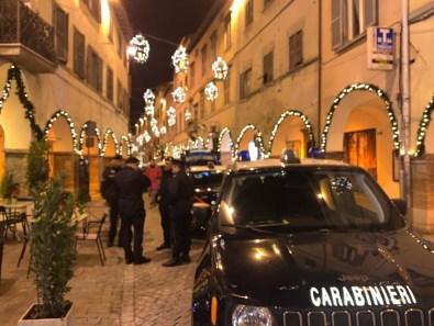 FOSSOMBRONE carabinieri controlli centro auto militare cinofili2020-01-07 (2)