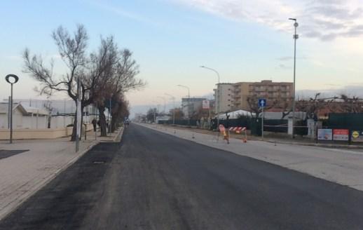 SENIGALLIA ciclovia adriatica lavori lungomare AgM2020-01-28 (17)