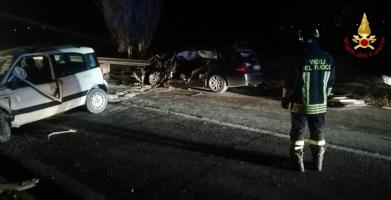 SERRA DE CONTI incidente auto morto vdf2020-01-12 (2)