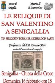 Le Reliquie di S.Valentino a Senigallia locandina ridotta