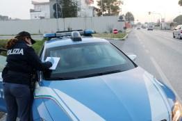 SENIGALLIA polizia controlli coronavirus mascherina2020-03-12 (2)