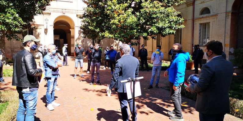 ristoranti protesta luci accese consegna chiavi2020-04-29 (2)