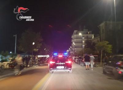 carabinieri SENIGALLIA controlli lungomare2020-08-30