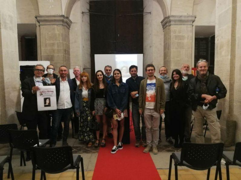 foto di gruppo per Cultura d Estate a Carpegna