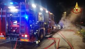 CHIARAVALLE incendio auto via ancona2020-11-13 (3)