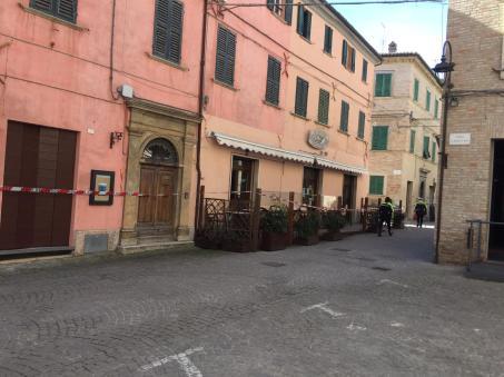 CORINALDO centro storico chiuso dopo crollo mura2021-02-19 (1)
