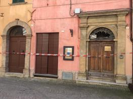 CORINALDO centro storico chiuso dopo crollo mura2021-02-19 (2)