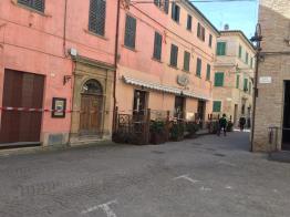 CORINALDO centro storico chiuso dopo crollo mura2021-02-19 (7)
