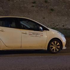 CORINALDO crollo mura auto ditta lavori2021-02-18