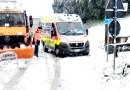 Disagi per la neve nelle Marche ma le strade sono tornate tutte transitabili