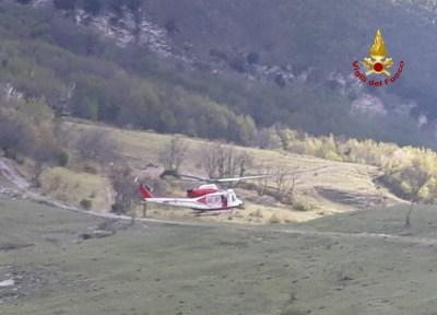 PIOBBICO escursionista in difficoltà soccorso Monte Nerone2021-04-21 (2)