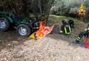 Finisce tra le lame della motozappa, tragico infortunio alla periferia di Fano