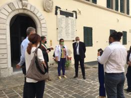 MORRO D'ALBA sindaco_prefetto_sottosegretaria