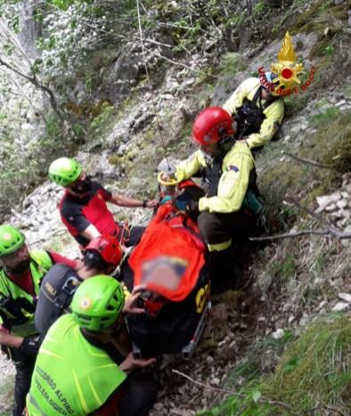 PIOBBICO persona soccorsa Monte Nerone2021-06-20 (1)