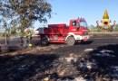 A Chiaravalle e Jesi bruciano due campi di stoppie, allarme per alcuni serbatoi di Gpl / Video